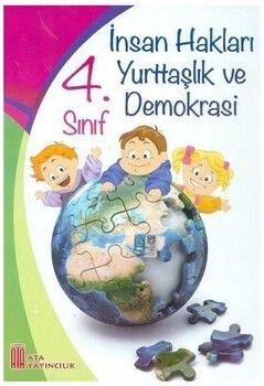 Ata Yayıncılık 4. Sınıf İnsan Hakları Yurttaşlık ve Demokrasi