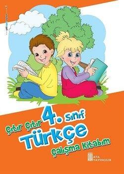 Ata Yayıncılık 4. Sınıf Türkçe Çıtır Çıtır Çalışma Kitabım