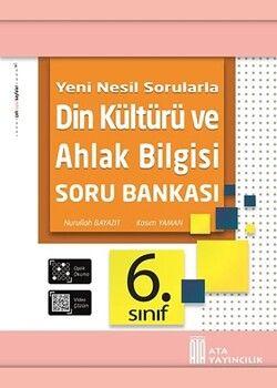 Ata Yayıncılık 6. Sınıf Din Kültürü ve Ahlak Bilgisi Soru Bankası