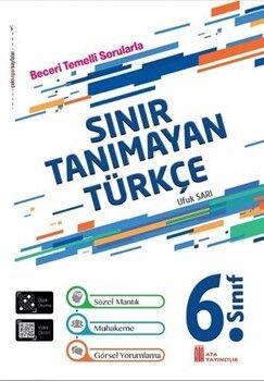 Ata Yayıncılık 6. Sınıf Türkçe Sınır Tanımayan Soru Bankası