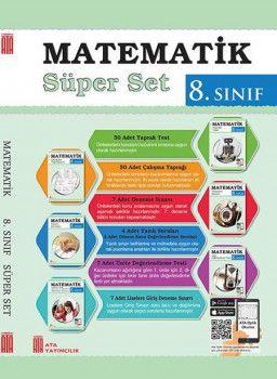 Ata Yayıncılık 8. Sınıf Matematik Süper Set