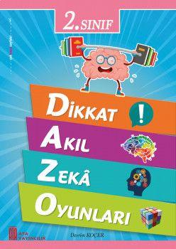 Ata Yayıncılık 2. Sınıf Dikkat Akıl Zeka Oyunları