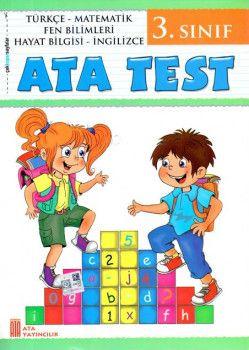 Ata Yayıncılık 3. Sınıf Ata Test Çek Kopar Sayfalar