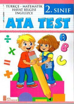 Ata Yayıncılık 2. Sınıf Ata Test Çek Kopar Sayfalar