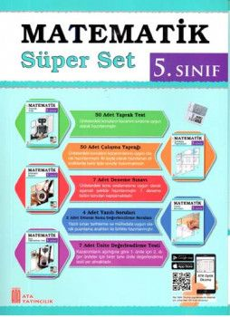 Ata Yayıncılık 5. Sınıf Matematik Süper Set