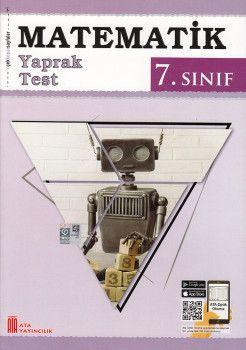 Ata Yayıncılık 7. Sınıf Matematik Çek Kopar Yaprak Test