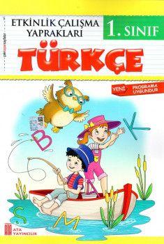 Ata Yayınları 1. Sınıf Türkçe Etkinlik Çalışma Yaprakları