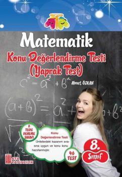 Ata Yayınları 8. Sınıf Matematik Konu Değerlendirme Yaprak Testi