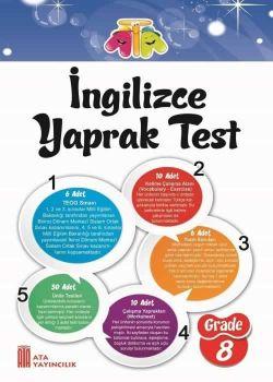 Ata Yayınları 8. Sınıf İngilizce Yaprak Test