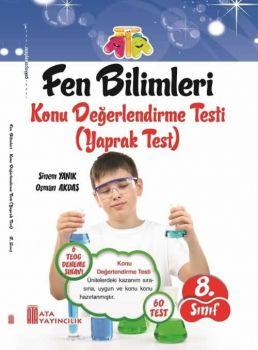 Ata Yayınları 8. Sınıf Fen Bilimleri Konu Değerlendirme Yaprak Testi