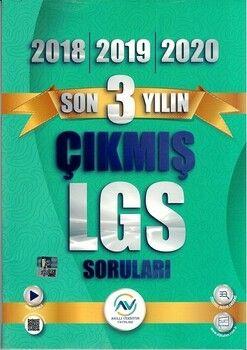 Av Akıllı Versiyon Yayınları 8. Sınıf LGS Son 3 Yılın Çıkmış Sorular