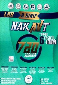 Av Akıllı Versiyon Yayınları 8. Sınıf LGS Tam Tekrar Nakavt 7 Günde Fasikül Deneme