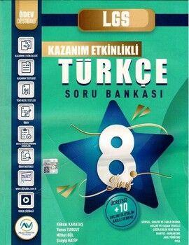 Av Akıllı Versiyon Yayınları 8. Sınıf LGS Türkçe Kazanım Etkinlikli Soru Bankası