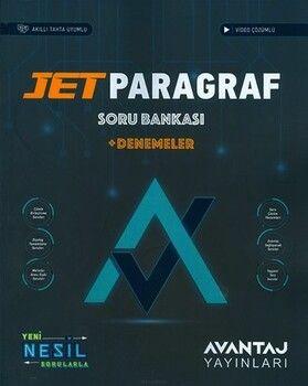 Avantaj Yayınları TYT Jet Paragraf Soru Bankası Denemeler