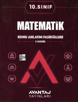 Avantaj Yayınları10. Sınıf Matematik Konu Anlatım Fasikülleri