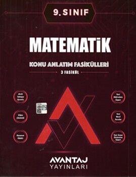 Avantaj Yayınları9. Sınıf Matematik Konu Anlatım Fasikülleri