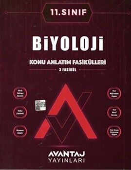 Avantaj Yayınları11. Sınıf Biyoloji Konu Anlatım Fasikülleri