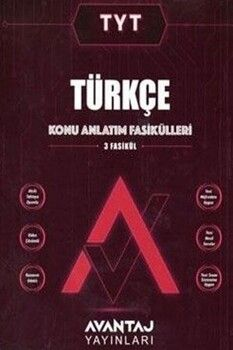 Avantaj YayınlarıTYT Türkçe Konu Anlatım Fasikülleri