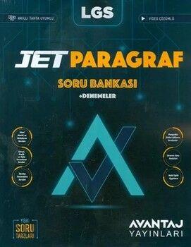 Avantaj YayınlarıLGS Jet Paragraf Soru Bankası ve Deneme