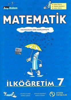 Aydan Yayıncılık 7. Sınıf Matematik Bay Kalem Konu Anlatımlı
