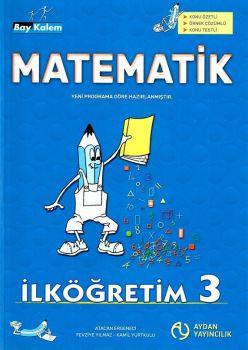 Aydan Yayınları 3. Sınıf Matematik Bay kalem Konu Anlatımlı