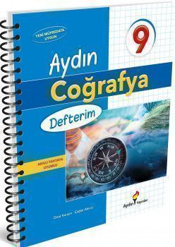 Aydın Yayınları 9. Sınıf Aydın Coğrafya Defterim