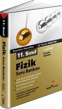 Aydın Yayınları 11. Sınıf Fizik Soru Bankası 1. Kitap