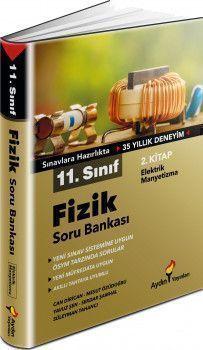 Aydın Yayınları 11. Sınıf Fizik Soru Bankası 2. Kitap