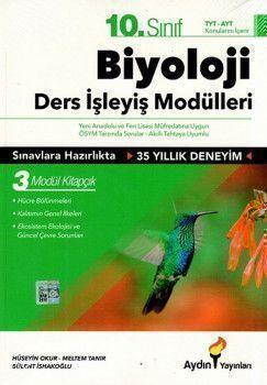 Aydın Yayınları 10. Sınıf Biyoloji Ders İşleyiş Modülleri