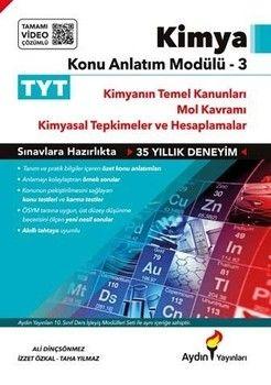 Aydın Yayınları TYT Kimya Konu Anlatım Modülü 3