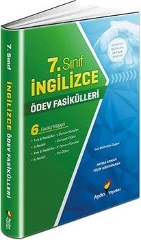 Aydın Yayınları 7. Sınıf İngilizce Ödev Fasikülleri