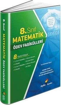 Aydın Yayınları 8. Sınıf Matematik Ödev Fasikülleri