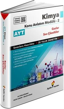 Aydın Yayınları AYT Kimya Konu Anlatım Modülü 2