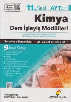 Aydın Yayınları 11. Sınıf Kimya Konu Anlatım Ders İşleyiş Modülleri