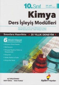 Aydın Yayınları 10. Sınıf Kimya Ders İşleyiş Modülleri