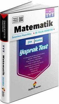 Aydın Yayınları TYT Matematik Yaprak Test