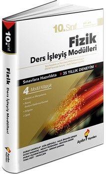 Aydın Yayınları 10. Sınıf Fizik Ders İşleyiş Modülleri
