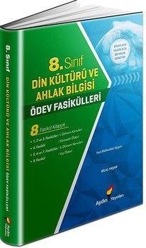 Aydın Yayınları 8. Sınıf Din Kültürü ve Ahlak Bilgisi Ödev Fasikülleri