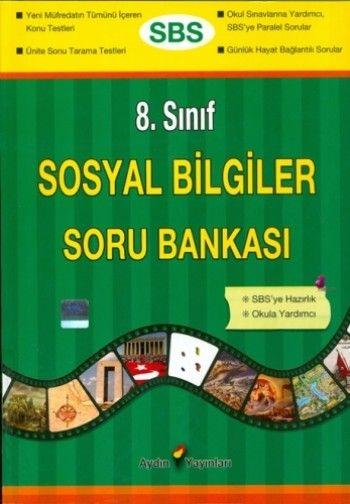 Aydın Yayınları 8 Sınıf Sosyal Bilgiler Soru Bankası