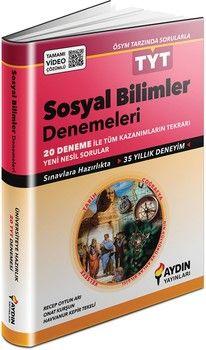 Aydın Yayınları TYT Sosyal Bilimler 20 li Denemeleri