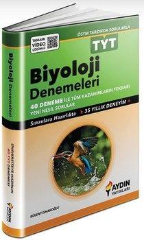 Aydın Yayınları TYT Biyoloji 40 lı Deneme