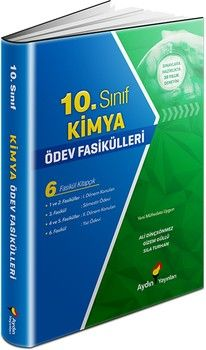 Aydın Yayınları 10. Sınıf Kimya Ödev Fasikülleri