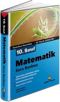 Aydın Yayınları 10. Sınıf Matematik Soru Bankası
