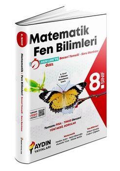 Aydın Yayınları 8. Sınıf Matematik Fen Bilimleri Beceri Temelli Soru Bankası