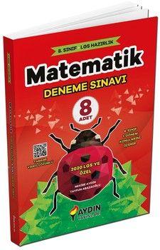Aydın Yayınları 8. Sınıf LGS 1. Dönem Matematik 8 Deneme
