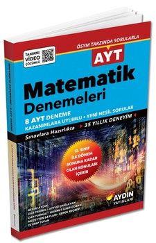 Aydın Yayınları AYT Matematik 8 Deneme