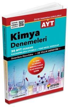 Aydın Yayınları AYT Kimya İlk Dönem 30 x 13 lu Özel Denemeleri