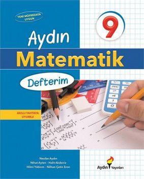 Aydın Yayınları 9. Sınıf Matematik Defterim 2. Dönem