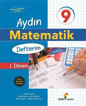 Aydın Yayınları 9. Sınıf Matematik Defterim 1. Dönem