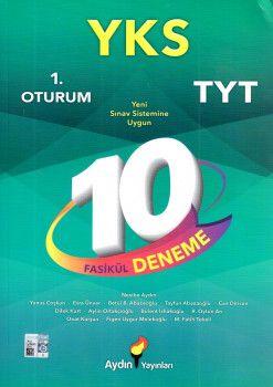 Aydın Yayınları YKS 1. Oturum TYT 10 Fasikül Deneme
